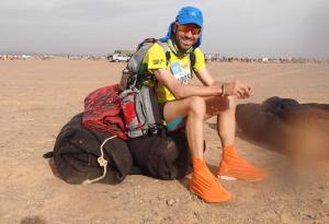 "Miquel Capó, bronze medal in the Marathon des Sables: ""I have my feet intact thanks to the Regenactiv® socks"""