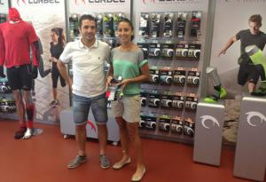 The Spanish Ultra Trail champion, Xari Adrián, will be the image of the female range of products of Lurbel in 2014
