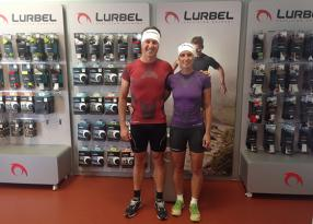 The triathletes Jacqueline Slack (UK) and Ben Allen (Australia) join the Lurbel team